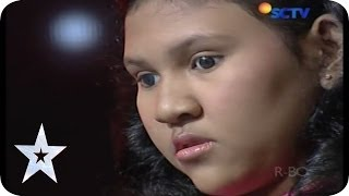 Claudya Fritska Makes Everyone Cry By Her Voice - Audition 2 - Indonesia`s Got Talent