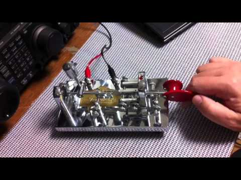 Vibroplex Original Delux Bug Key