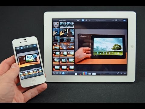 iPhoto for iOS (iPad & iPhone): Demo