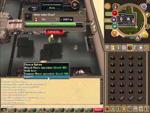 Runescape Low Level Smithing Guide (AFK Cheap)