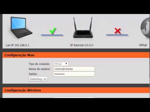 Como configurar o roteador DLink Dir 615
