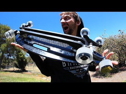 THE 8 WHEELED ALL ROVER SKATEBOARD! | SKATE CIRCUS