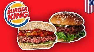 Burger King to roll-out meatless burger nationwide - TomoNews