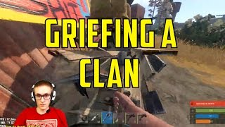 Rust | Griefing a Clan
