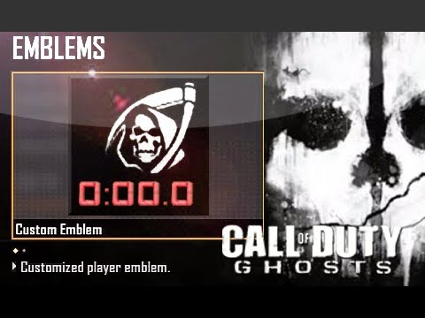 Bo2 Emblem Attack Ghosts
