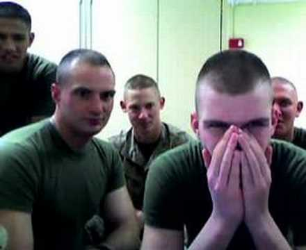 Marines 2 Girls 1 Cup Reactions!! video