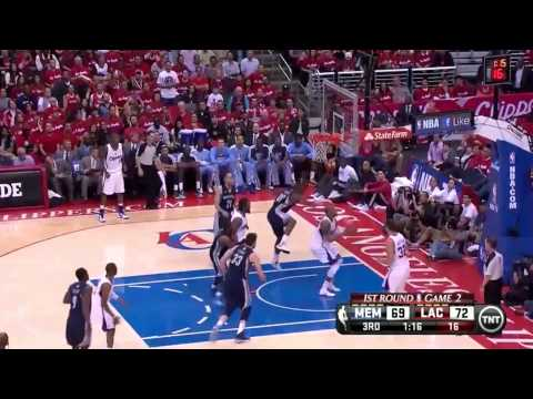 Chris Paul 24pts Game Winner, Full Highlights vs the Memphis Grizzlies Gm 2 Playoff 2013