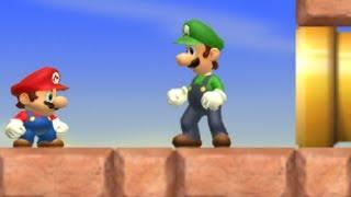 Deluxe Super Mario Bros. Wii - 2 Co-op - Walkthrough - #03