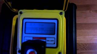 Victoreen 450B Geiger Counter Ion Chamber Survey Meter test