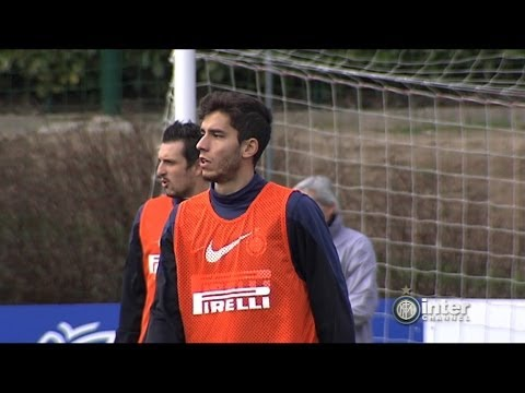 ALLENAMENTO INTER REAL AUDIO 21 02 2014
