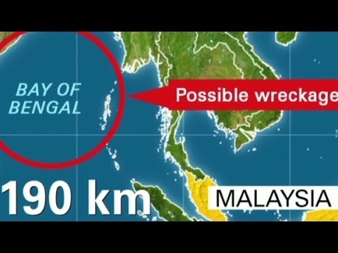 2nd search for MH370 in Bay of Bengal