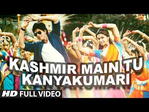 Kashmir Main Tu Kanyakumari Chennai Express Full Video Song |...