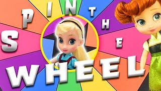 Elsa's Valentine's Day Spin The Wheel Game with LOL Surprise Doll Unboxing! | Princess World