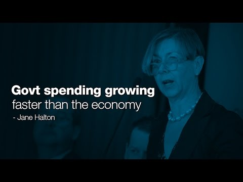 Government spending growing faster than the economy - Jane Halton PSM