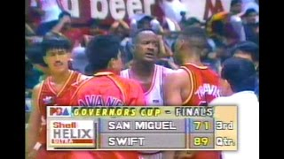 PBA Classic: San Miguel vs Swift  FREE-FOR-ALL