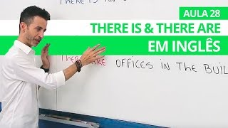 THERE IS & THERE ARE EM INGLÊS - AULA 28 PARA INICIANTES - PROFESSOR KENNY