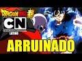 ¡ CARTOON NETWORK ARRUINO EL ESPECIAL 1 HORA DRAGON BALL SUPER LATINO ! CAPITULO 109 Y 110 DBS