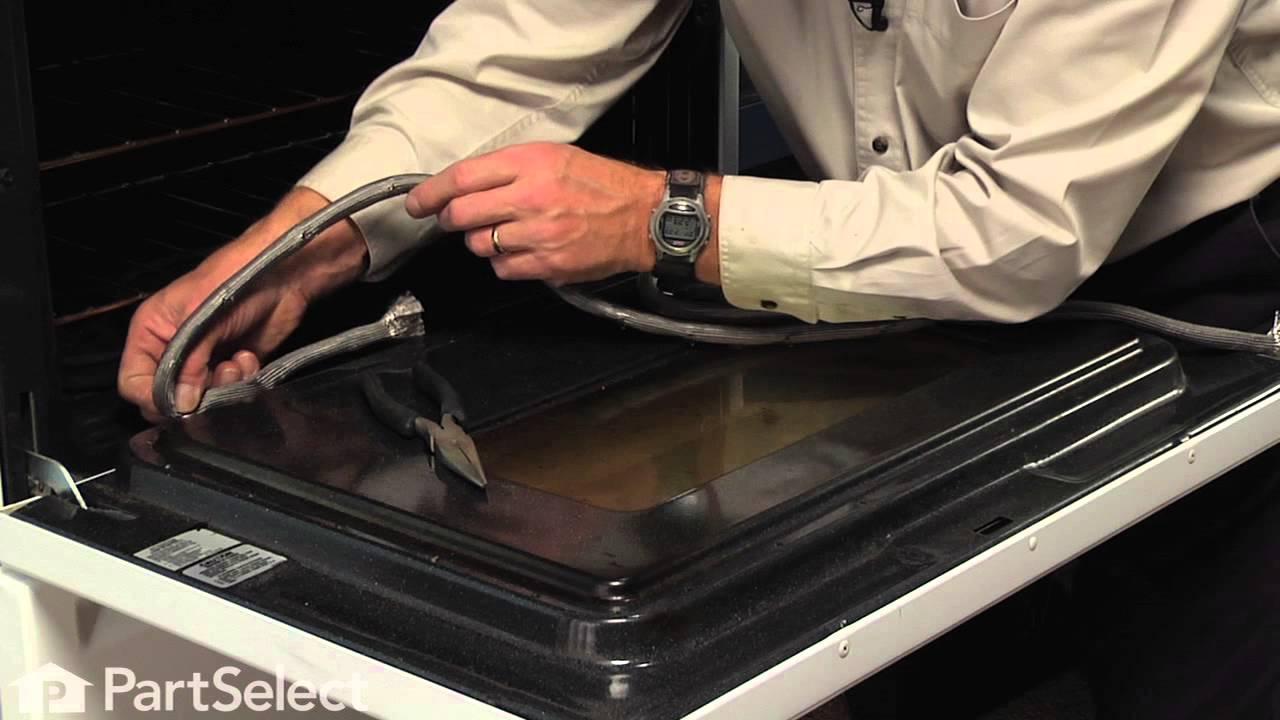 Range Stove Oven Repair Replacing The Door Gasket