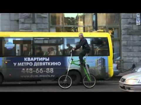 La bicicleta Transformer (con altura autoajustable)