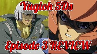 Yu-Gi-Oh 5Ds: Episode 3 REVIEW (Sub VS Dub)