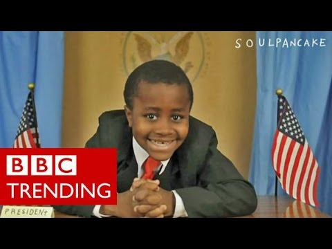 Who is Kid President? - BBC Trending goes behind-the-scenes with the YouTube star.