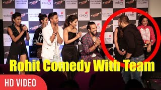 Rohit Shetty Comedy With Team Khatron Ke Khiladi Season 8 | Funny Moments