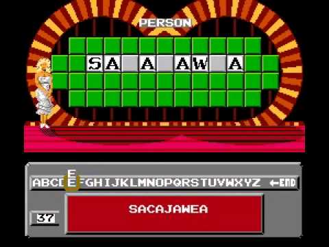 Wheel of Fortune - Family Edition - Wheel of Fortune Family Edition (NES) - User video