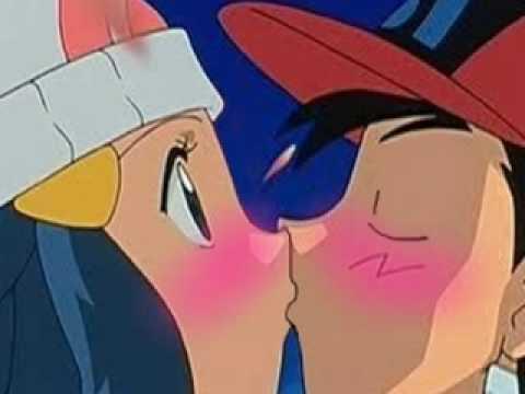 Pokemon ashs first kiss images pokemon images