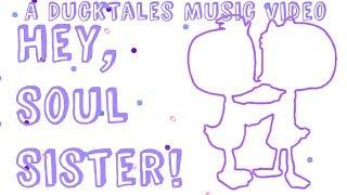 "DuckTales Dewey X Webby: ""Hey, Soul Sister."" Music video ✦BubblyDucks✦"