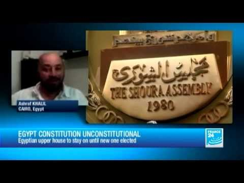 Egypt court rules Senate and constitutional panel invalid - 06/02/2013