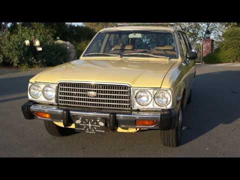 1977 Toyota Corona 1 Owner Station Wagon 69k mi MINT For Sale