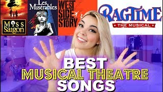 10 BEST Musical Theatre Songs