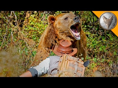 GRIZZLY BEAR ATTACK!