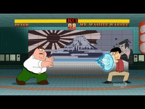 Family Guy: Street Fighter 'Peter vs Mr. Washee Washee'