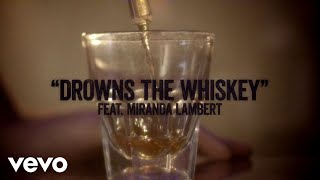 Download Jason Aldean  Drowns the Whiskey ft Miranda Lambert Lyric Video MP3