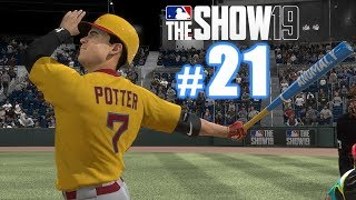 LONGEST HOMER I'VE HIT THIS YEAR! | MLB The Show 19 | Diamond Dynasty #21