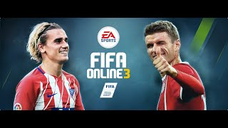 #001 | FIFA ONLINE 3 | Live Stream | Ranking 1 VS 1 | Liverpool |