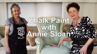 How to Paint Fabric with expert Annie Sloan