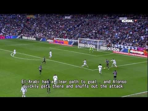 Xabi Alonso doubles Madrid's defensive effectiveness