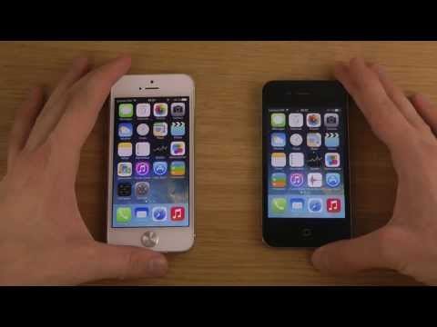 iPhone 5 iOS 7 Beta 3 vs. iPhone 4 iOS 7 Beta 3 - Review