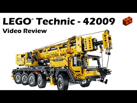 LEGO Technic 42009, Mobile Crane MK II Review
