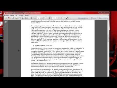 Como Convertir Archivos PDF a Word. [2013]