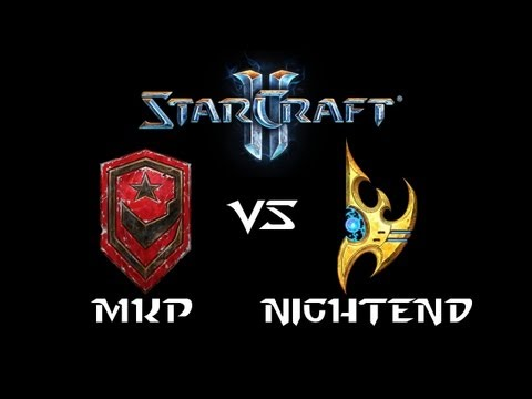 StarCraft 2 - MarineKing [T] vs NightEnd [P] (Commentary)