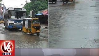Heavy Rains Lashes Warangal- Transportation Hits To Agency Areas -  V6 News - netivaarthalu.com