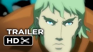 Justice League: Throne of Atlantis Official Trailer #1 (2014) - DC Comics Animation Movie HD