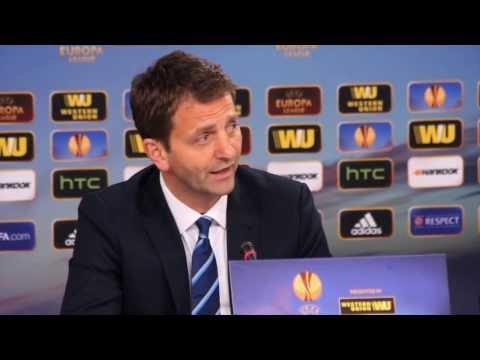 """Tim Sherwood trotz Aus: """"Können stolz sein!"""" / Benfica Lissabon - Tottenham Hotspur 2:2"""