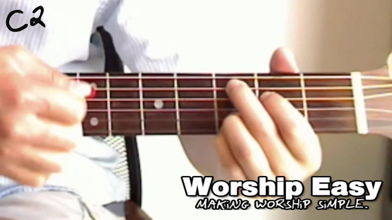 Guitar chord c2