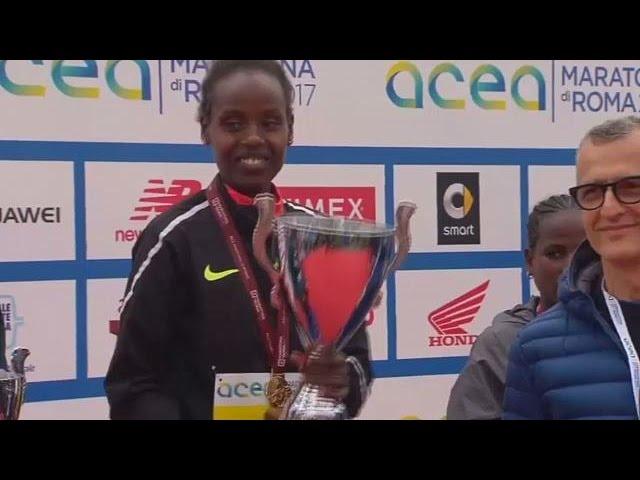 Ethiopian athletes win men and women's Rome marathon