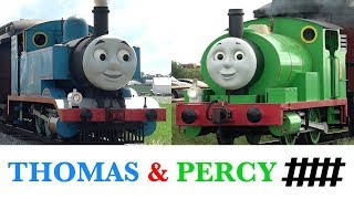 Best of Thomas & Percy at the Strasburg Rail Road, Steam Engines Compilation Highlight Video
