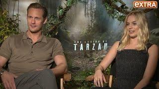 Alexander Skarsgård & Margot Robbie Talk Animalistic, Punching Sex Scene in 'Tarzan'